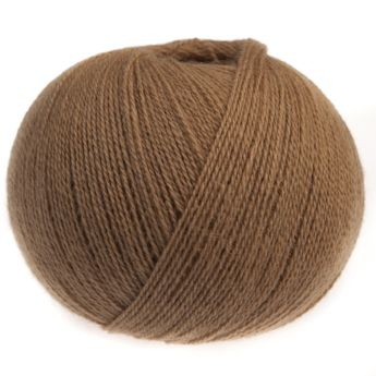 2-ply yarn in pure camel hair from Mongolia.  http://www.gomitolis.it/english/cammello/cammello-4-ply/17/