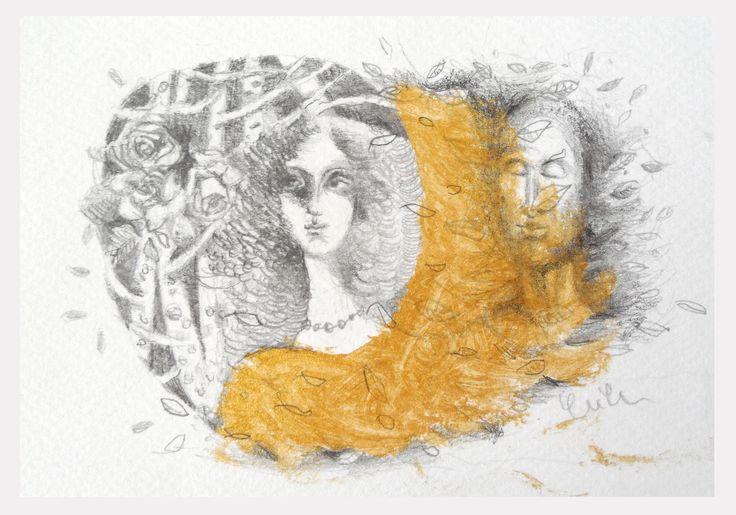 YUYU illustration - postcard