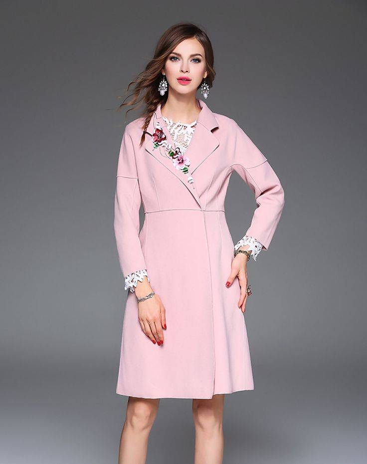 Check the details and price of this Pink Sequin Lapel Coat (Pink, Elenyun) and buy it online. VIPme.com offers high-quality Coats at affordable price.