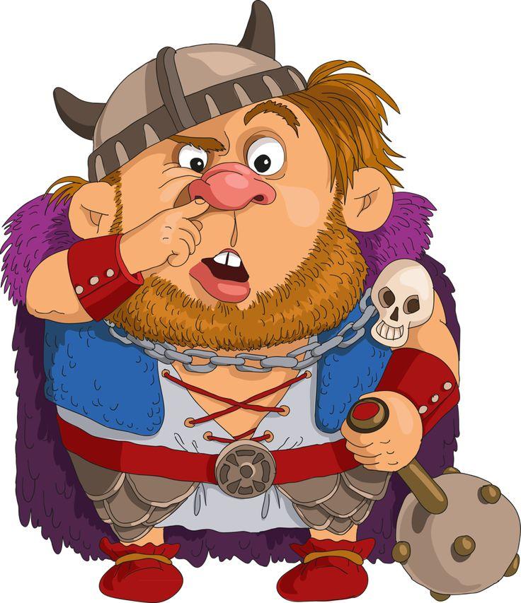 Открытки викинги, нарисовать