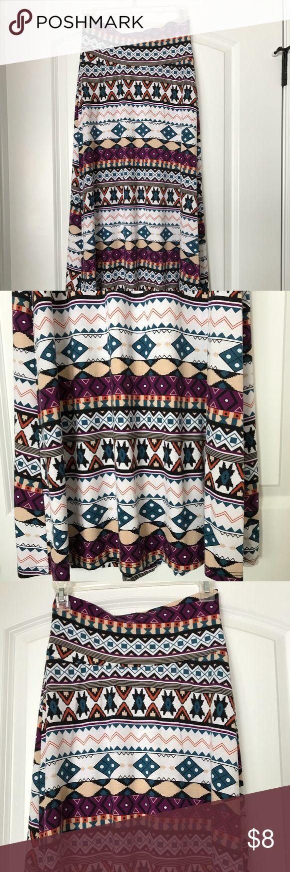 Tribal Maxi Skirt Tribal print Maxi Skirt.  Soft and super comfy! downeast Dresses Maxi