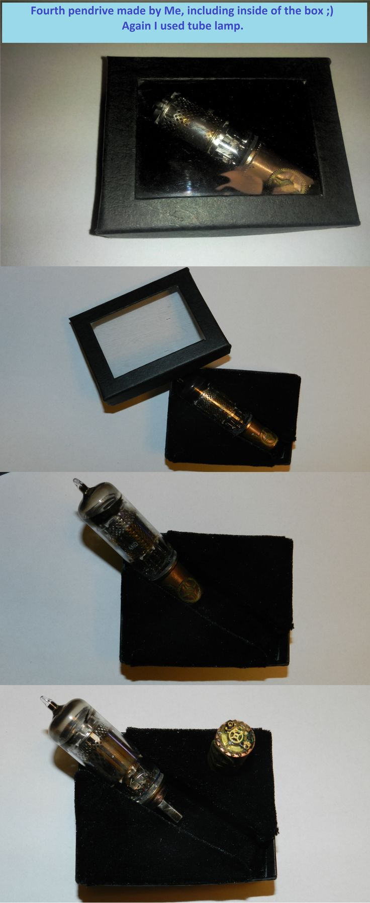 Fourth pendrive made by Me ;) Again tube lamp.