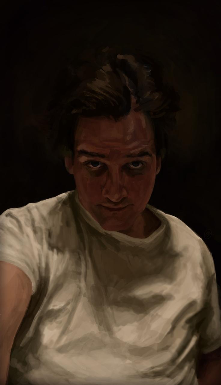 Digital selfportrait    www.ewoudbakker.com