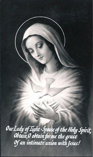 PRAYER TO THE HOLY SPIRIT.