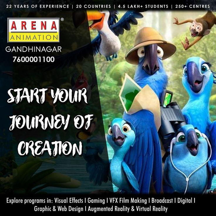 Social Media Post for Arena Animation