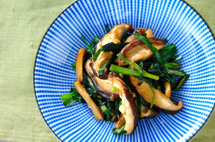 シイタケの中華炒め[中華/炒めもの]2005.12.05公開のレシピです。