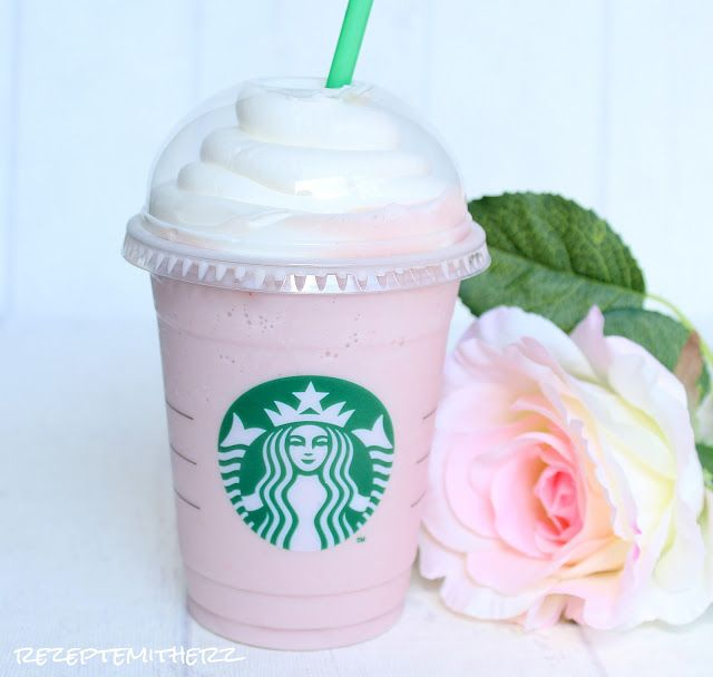 Rezepte mit Herz ♥: Cotton Candy Frappuccino a la Starbucks ♡ Copycat