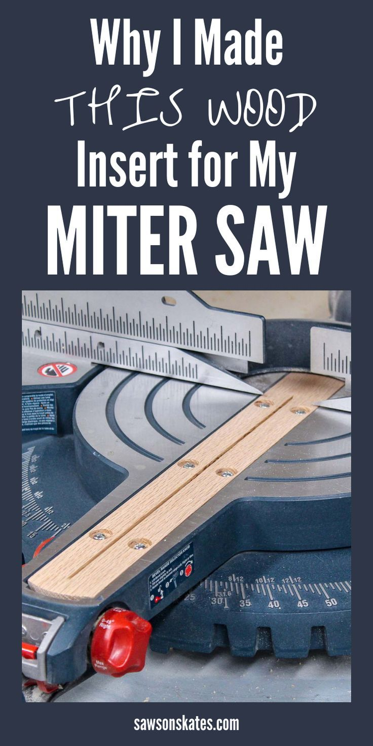 Watch this! If you make a cut with your miter saw and then turn the board …   – mix
