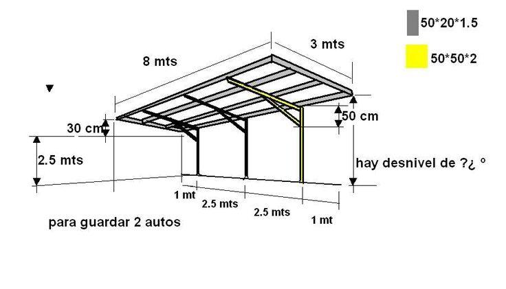 Entradas de autos techos buscar con google casa for Techos de galerias economicos