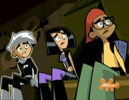 "Childhood Nickelodeon cartoon, ""Danny Phantom""."
