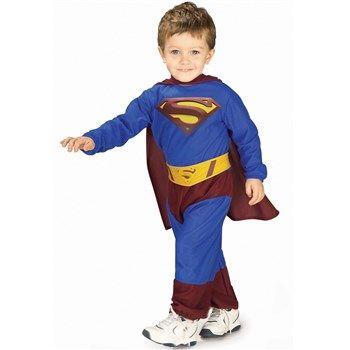 superman returns deluxe toddler costume infant toddler child male halloween costumes infant costumes - Male Costumes Halloween