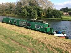 RW Davis 55 Cruiser Stern for sale UK, RW Davis boats for sale, RW Davis used boat sales, RW Davis Narrow Boats For Sale Narrowboat Holmbury 55ft Perkins 3cyl engine - Apollo Duck