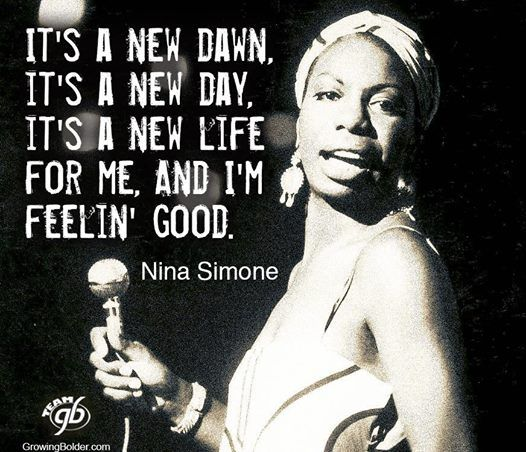 Nina Simone quote...LOVE her!!