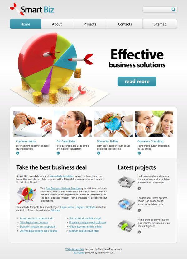 36 High Quality Templates & Tutorials To Design Business Website