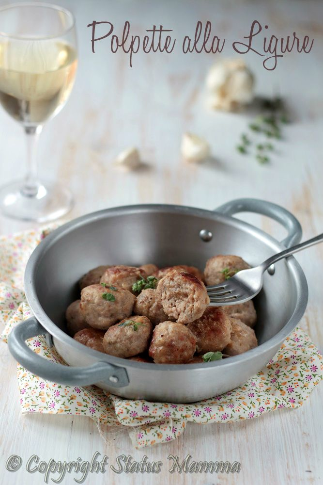 Polpette alla Ligure ricetta secondo facile in umido veloce con carne Statusmamma gialloblogs foto tutorial Giallozafferano