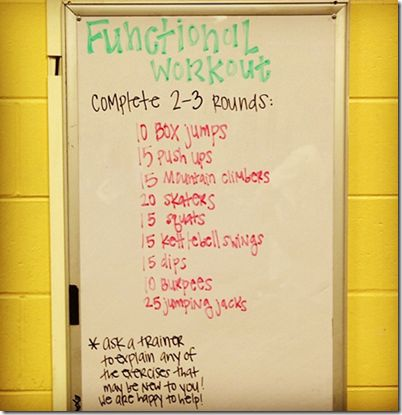 Functional Training Workout