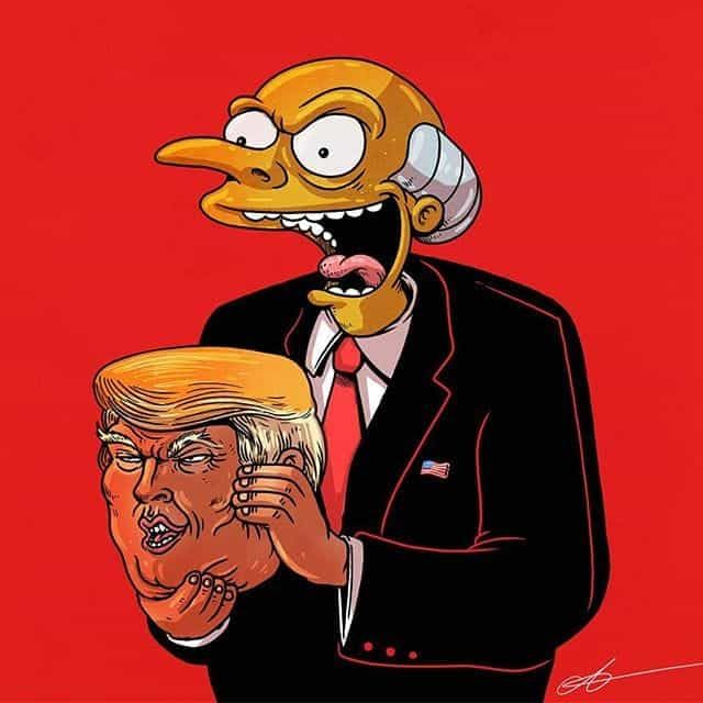 Image uploaded by | D A N Y |. Find images and videos about simpsons, the simpsons and trump on We Heart It - the app to get lost in what you love.