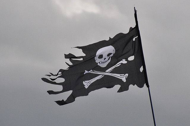 "The ""pirate brand"" has long been tied to the skull and crossbones—the Jolly Roger—as a symbol of terror on the high seas."