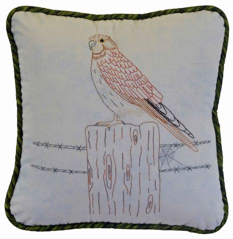 $7  The Kestrel is number 10 in our Australian Bird series of Stitcheries.