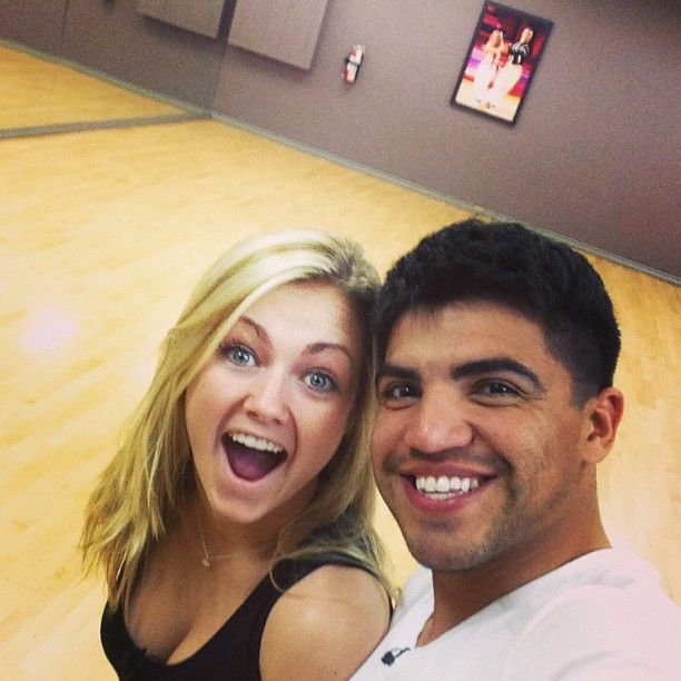 Instagram/Twitter pics - victor-ortiz-and-lindsay-arnold-dwts Photo