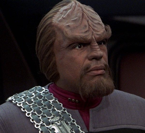 Worf. Star Trek The Next Generation