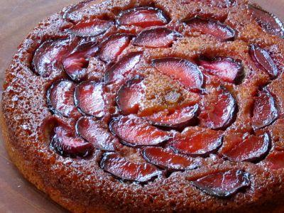 Receta de Pastel de Ciruela y Manzana