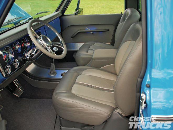 1112clt 04 O +1972 Chevrolet C10+interior