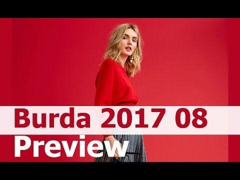 Burda 2017 08 первый анонс