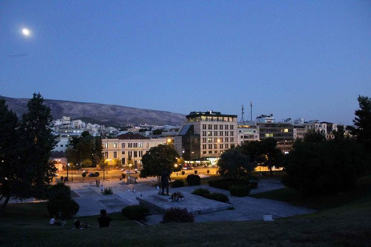 Lovely romantic place in Athens.