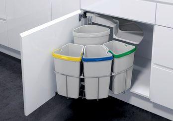 Mülltrennsystem Öko-Center 4