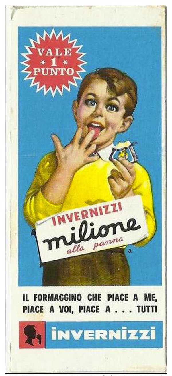 formaggino Invernizzi-milione