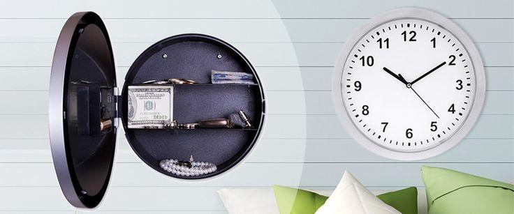 Hidden Safe Wall Clock Deal