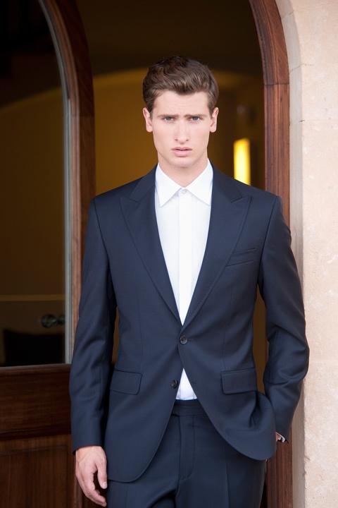 black suit no tie gentleman s style