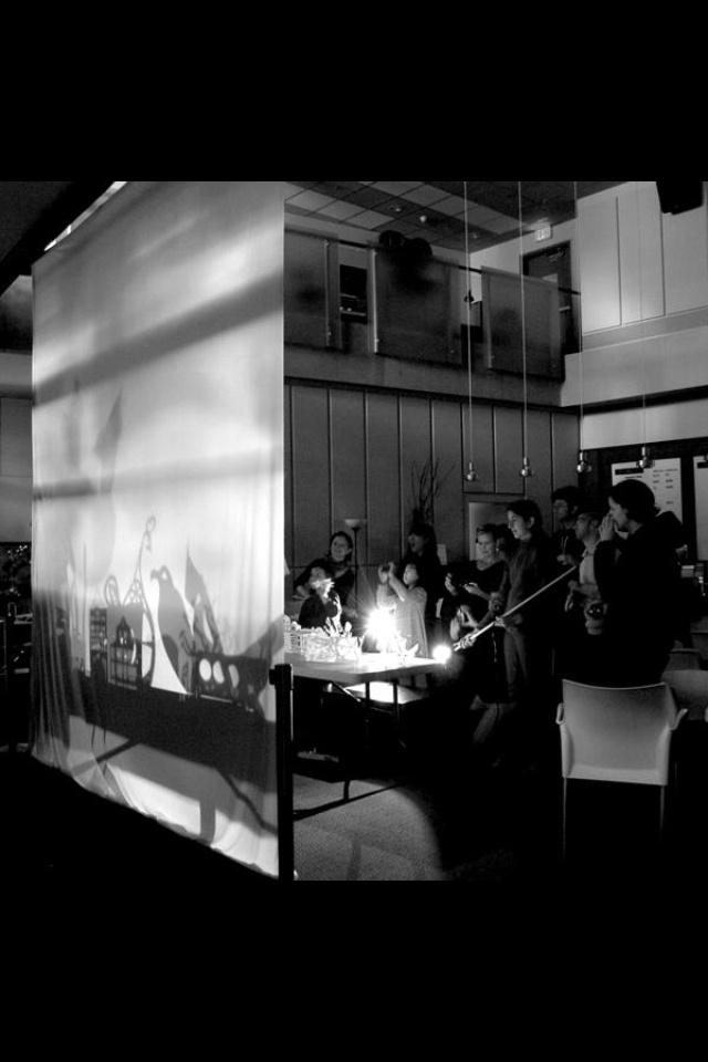Interactive workshop at reel2real film festival in vancouver. April 2013