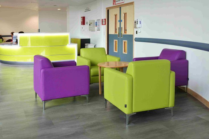 North Middlesex University Hospital - the Lynx range from Knightsbridge Furniture
