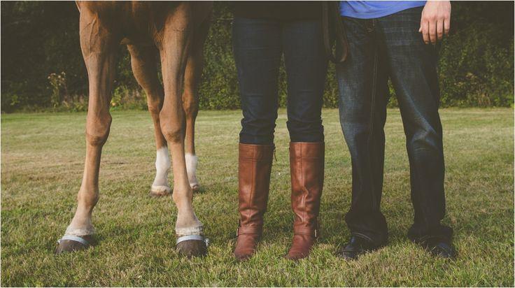 Horse Farm Engagement Photos || Studio 29 Photography   Amalia + Mike // Engaged // Oconomowoc