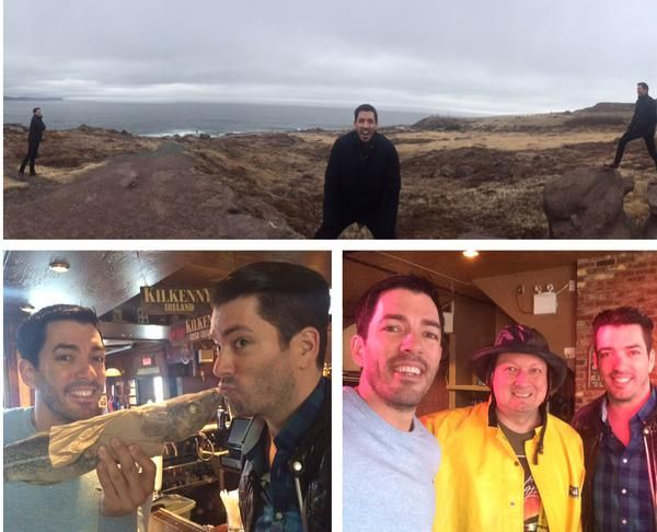 I think we are now officially Newfoundlanders! Toured Cape Spear, @,rsilverscott kissed a cod & we met a fisherman!