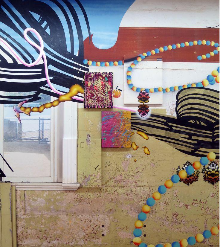 Christine Streuli, Gradually Real, 2014  [detail]