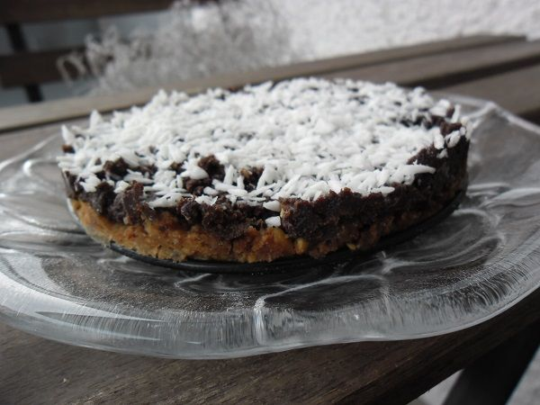 Kaka med chokladcréme