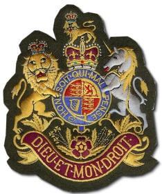 British Military Badge