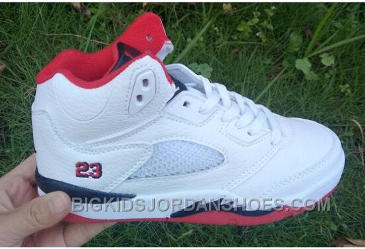 """http://www.bigkidsjordanshoes.com/for-sale-kids-air-jordan-5-fire-red.html FOR SALE KIDS AIR JORDAN 5 """"FIRE RED"""" Only $85.00 , Free Shipping!"""