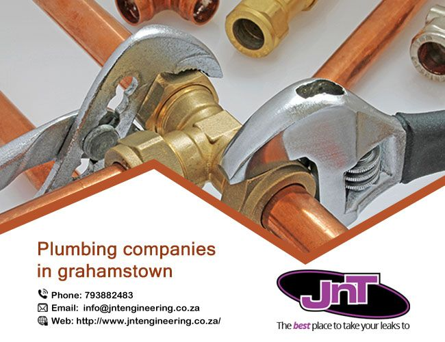 If you are looking for plumbing companies in Grahamstown, JNTEngineeing are one of the best company for plumbing services. https://goo.gl/iTcJvo