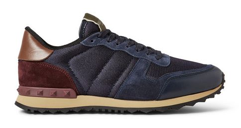 Valentino, Rockstud Sneaker, Mr. Porter http://www.tpgstyle.com/2015/01/the-edit-picks-of-month-january.html