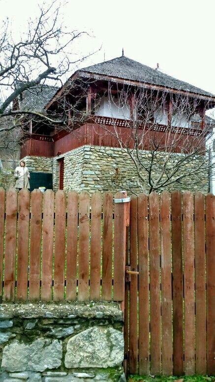 Casa românească tradițională.