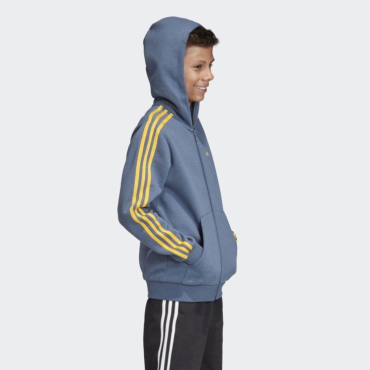 Veste à capuche à 3 bandes Essentials | Veste a capuche