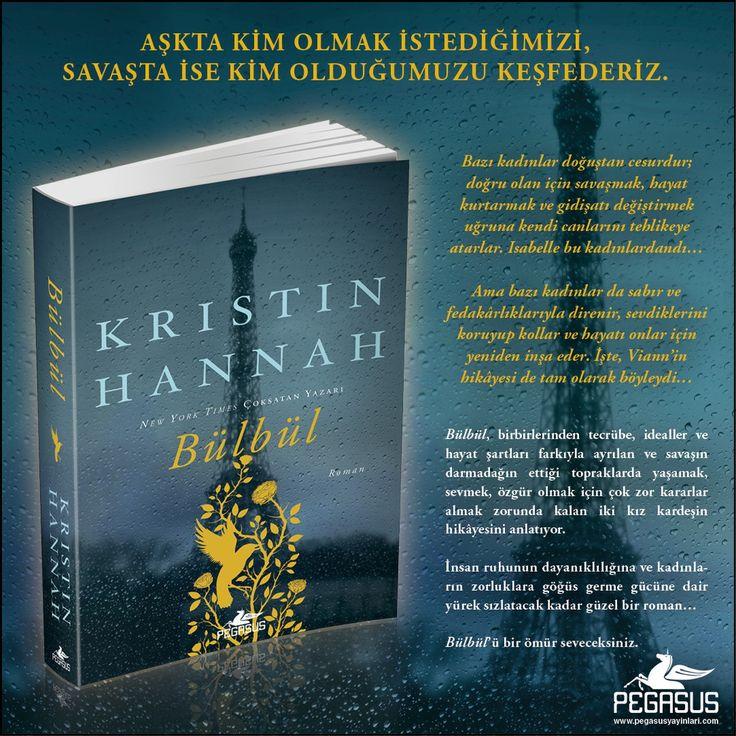 Kristin Hannah okurlarına müjde! Yazarın heyecanla beklenen romanı 3 Şubat'ta raflara giriyor.  #YENİKİTAP  BÜLBÜL - KRISTIN HANNAH  Bir kadının ruhunun manzarası savaştaki bir dünya kadar hızlı değişebilir.  Özgün Adı: The Nightingale Çeviri: Fazilet Mıstıkoğlu Tür: Tarihi Roman Sayfa: 544 Satış Tarihi: 03 Şubat  Kitabı incelemek ve satın almak için: