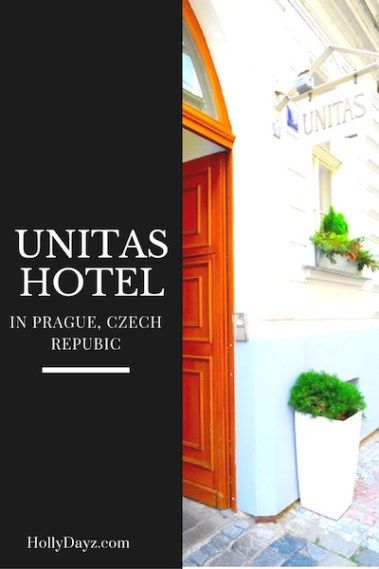 Unitas Hotel in Prague, Czech Republic www.hollydayz.com ©2016