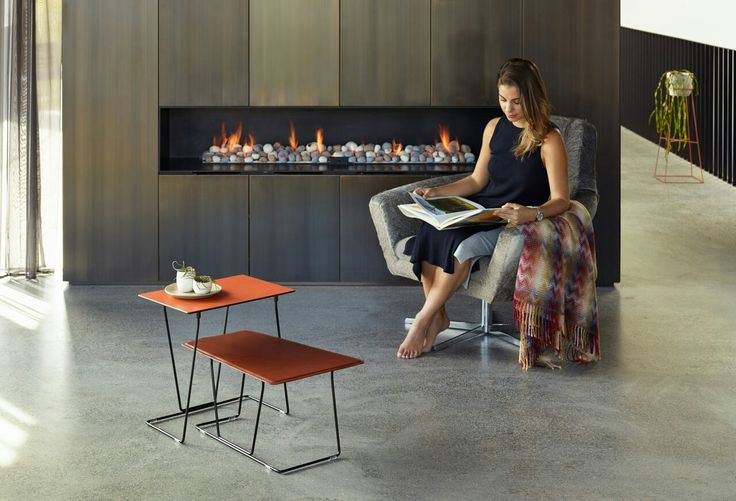Tango tables by Ivan Woods for Schiavello
