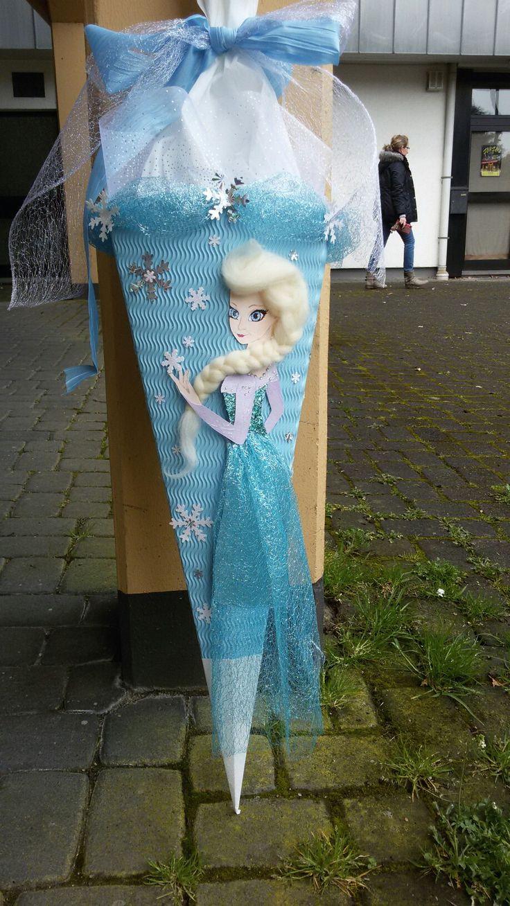Frozzen-Schultüte Elsa