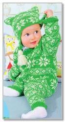 Комбинезон малышу с арнаментом - Комбинезоны - Детские модели - Модели вязанной одежды - Схемы вязания